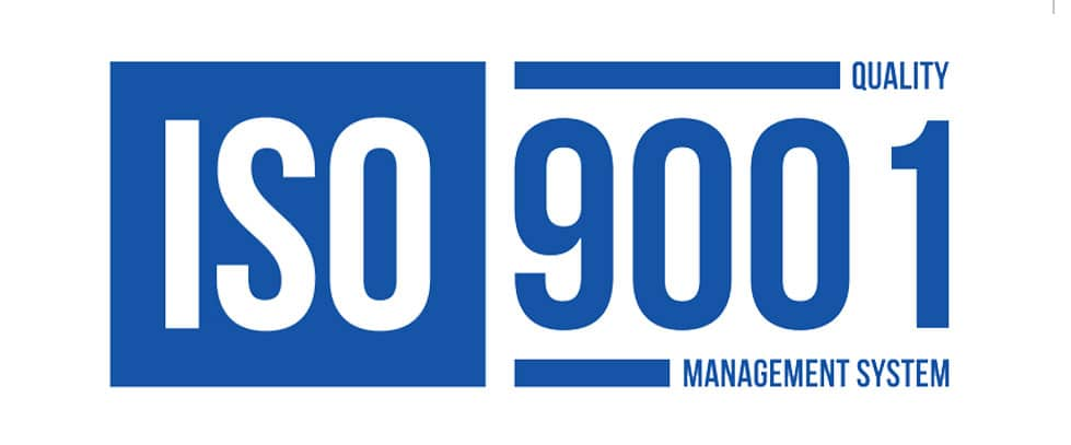 vboxx one is iso-9001 certified